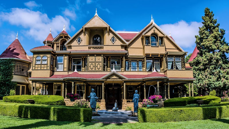 California Hotel Winchester Mystery House Package