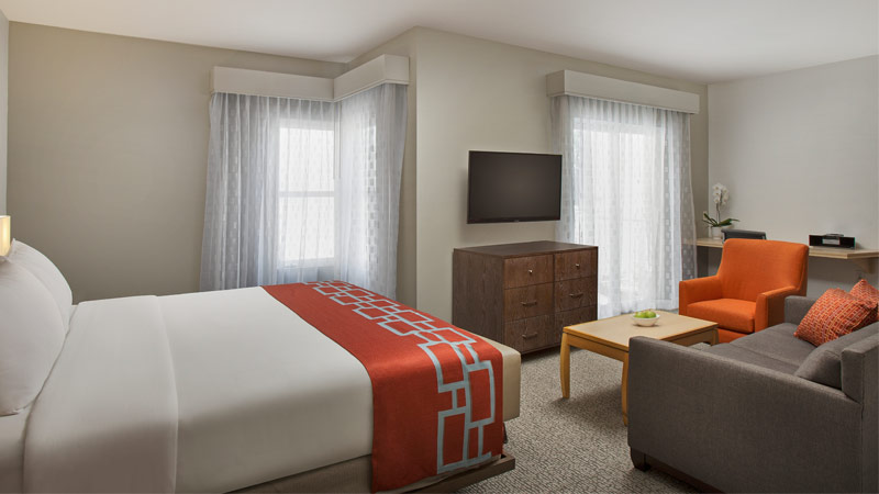 Accessible King Suite at Corporate Inn Sunnyvale