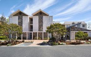 Convenient Location of Corporate Inn Sunnyvale, California